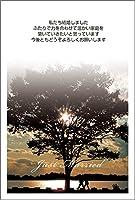 【官製 10枚】 結婚報告はがき WMSF-05-kan