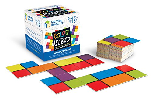 Learning Resources- Juego de Estrategia de Cuadrados de Colores, Multicolor (LER9283) , color/modelo surtido