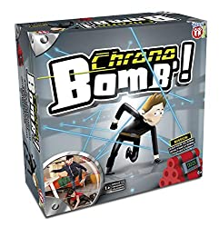 Beat the clock, defuse the bomb Test your agility Trip the cord at you peril Create your course Batteries required 3x AAA, 7 Years +