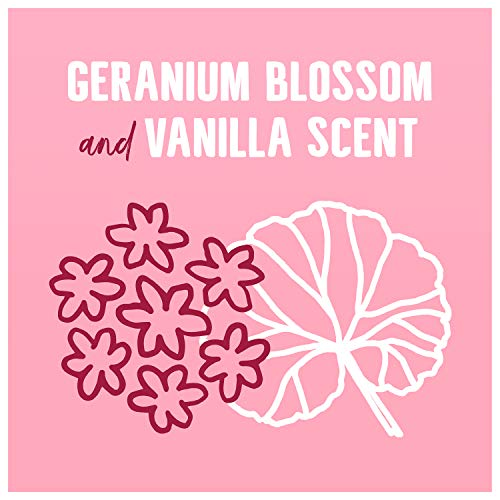 Seventh Generation Concentrated Laundry Detergent, Geranium Blossom & Vanilla, 40 oz (53 Loads)