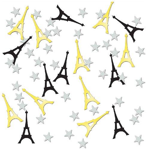 Eiffel Tower Confetti, 1/2-Ounce