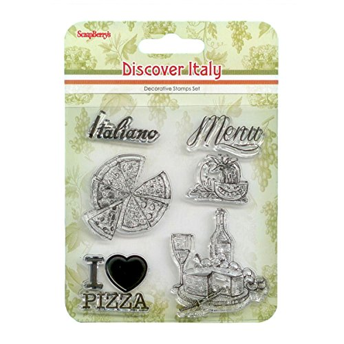 Scrapberry's Discover Italy Clear Stamps 4