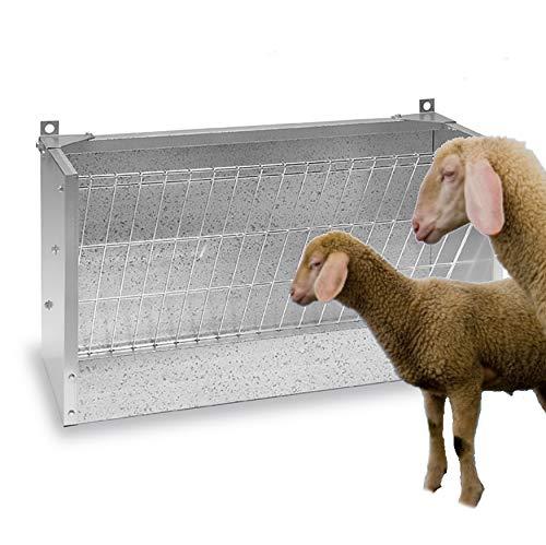 FINCA CASAREJO Forrajera de Pared para ovejas, corderos o Cabras con Respaldo de 1 Metro