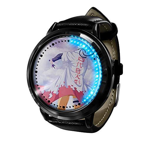 El Nuevo Reloj de animación Femenino de Naruto está Hecho de Cuarzo de animación de Acero Inoxidable.-C