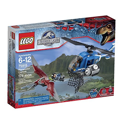 LEGO Jurassic World Pteranodon Capture 75915 Building Kit by LEGO