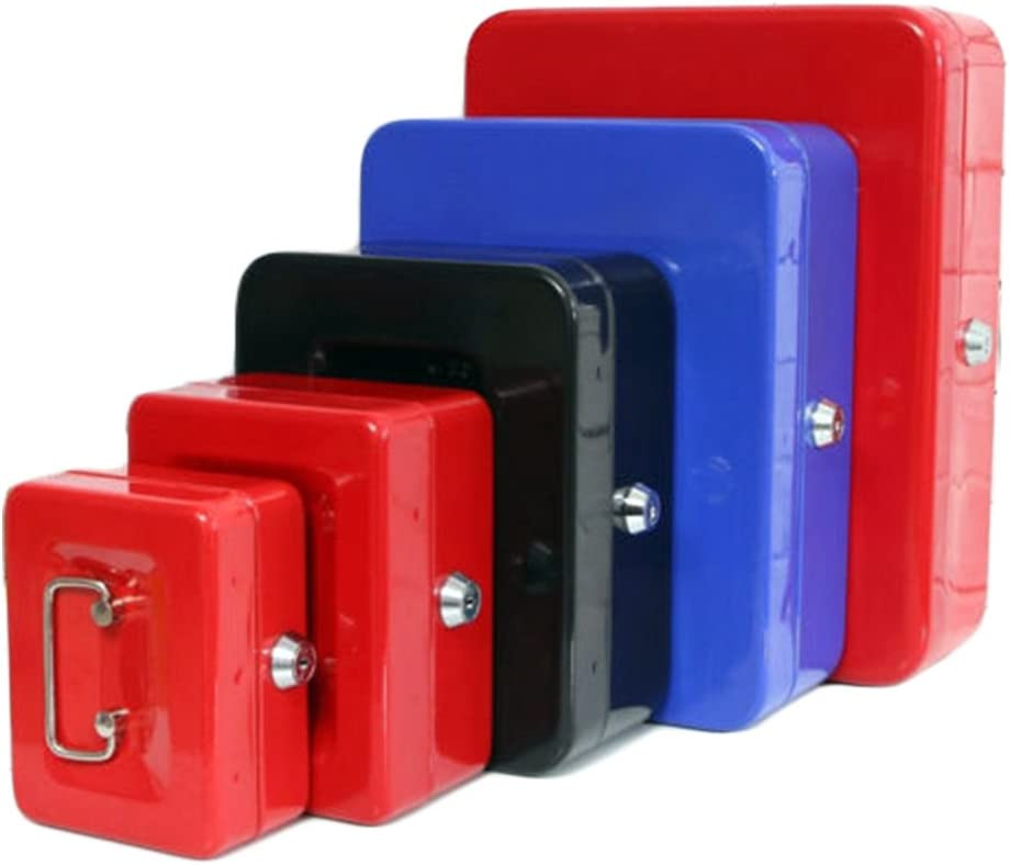 PoundSaver/® English GBP Pound Cash Box with Coin Rack and Bills Tray