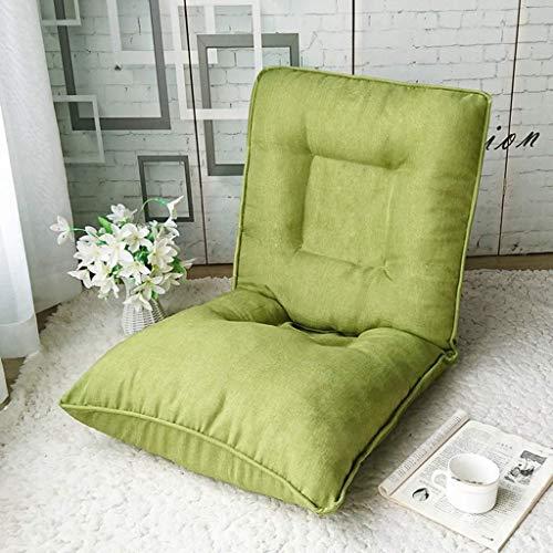 WCJ Moderne Einfachheit Lazy Couch Klappstuhl Meditation Floor Seat Single Mittagspause kann als Spiel Stuhl oder Lesen und Fernsehen Lazy Sofa verwendet Werden (Color : D)