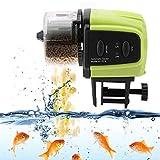 Jadpes Automatic Fish Feeder,Aquarium Tank Fish Food Feeder Digital Timer Food Feeding for Aquarium Tank Timer Feeder Vacation &Weekend Fish Food Dispenser Freshwater