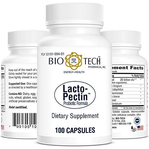 BioTech Pharmacal - Lacto Pectin - 100 Count