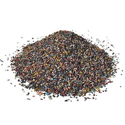 RicambiWeiss 20Kg Gummigranulat Boxsack Füllung Boxbirne Füllmaterial Granulat Gummi Boxbirne Boxsackfüllung