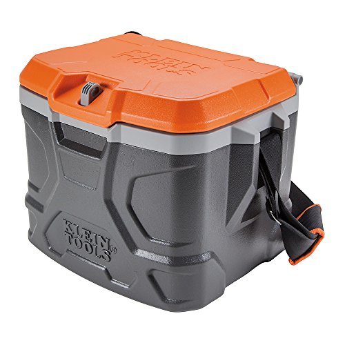 Klein Tools 55600 Work Cooler, 17-Quart Lunch Box Holds 18...