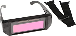 Solar Auto Dimming Mask Labor Insurance Welding Eye Mask Glasses