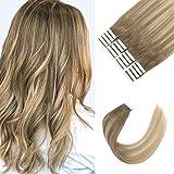 Best Tape In Hair Extensions - Sixstarhair Seamless Tape in Hair Extensions Made Of Review