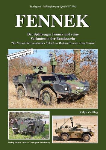 Tankograd 5043 FENNEK - Der Spähwagen Fennek und seine Varianten in der Bundeswehr