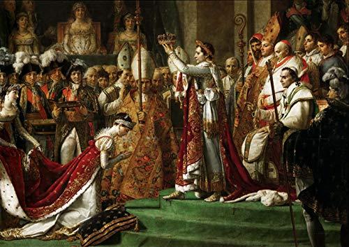 David Jacques Louis La Coronación del Emperador Napoleón I Bonaparte 0 Rompecabezas Juguete de Madera Adulto Familia Amigo DIY Challenge Decoración de la Pared 1000 Pieza