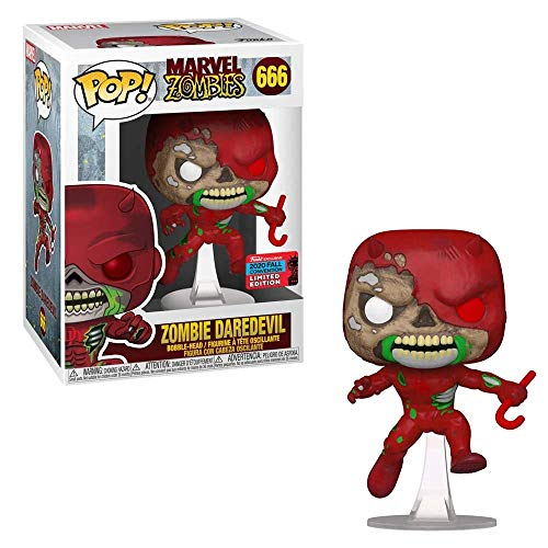 POP Funko Marvel Zombies 666 Zombie Daredevil 2020 Fall Convention Exclusive