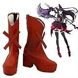 BELUNOT Gate Jieitai Kanochi nite Kaku Tatakaeri Enryuu-Hen Rory Mercury Cosplay Halloween Party Shoes Red Fancy Boots Custom Made