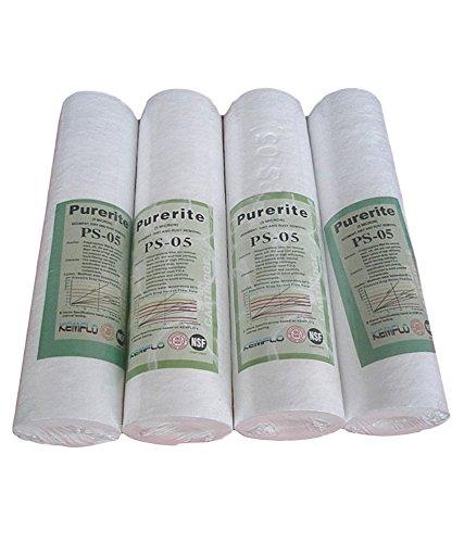 Namibind Kemflo Spun Filter for Ro Purifiers (4 Piece, White)
