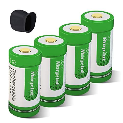 Arlo Akkus, Keenstone 4 Stücke 3.7V 750mAh Arlo Kamera Akkus mit Batterie Gehäuse/Kamera Hülle (T-2-white)