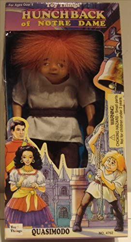 Hunchback Of Notre Dame Doll - Quasimodo by Toy Things