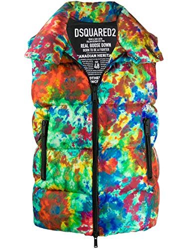 Mode | Dsquared2 Heren S71FB0343S52347001S Multi kleuren Vest | Herfst-Winter 19