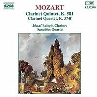 Clarinet Quintet / Clarinet Quartet