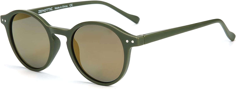 ZENOTTIC Polarized Round Sunglasses ,Stylish Sunglasses for Men and Women Retro Classic,Multi-Style Selection