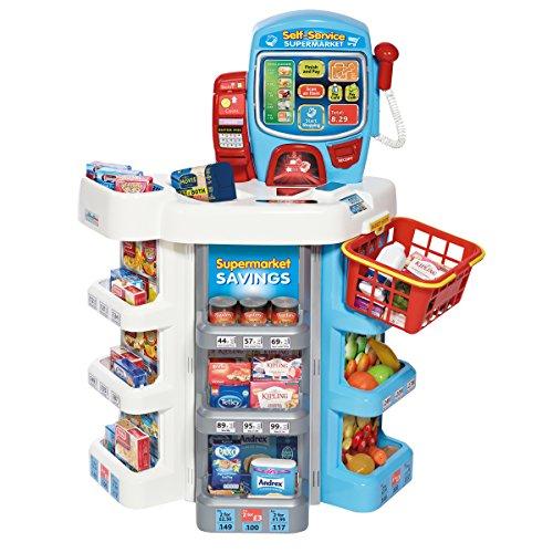 Bentley Kids - Set de supermercado y carrito de compras de juguete