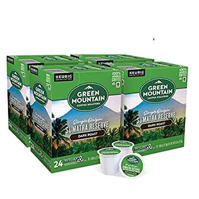 Green Mountain Coffee Roasters Sumatra Reserve, Single-Serve Keurig K-Cup Pods, Dark Roast Coffee, 96 Count