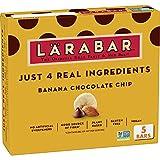 Larabar Fruit and Nut Bar, Banana Chocolate Chip, Gluten Free, Vegan, 5 ct, 8 oz (Pack of 8)
