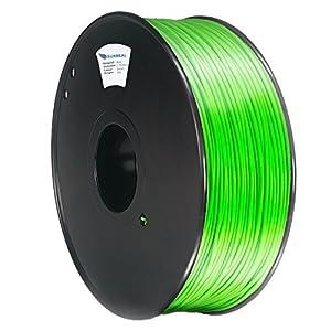 AmazonBasics – Filamento de PLA para impresora 3D, 1,75 mm, Rojo ...