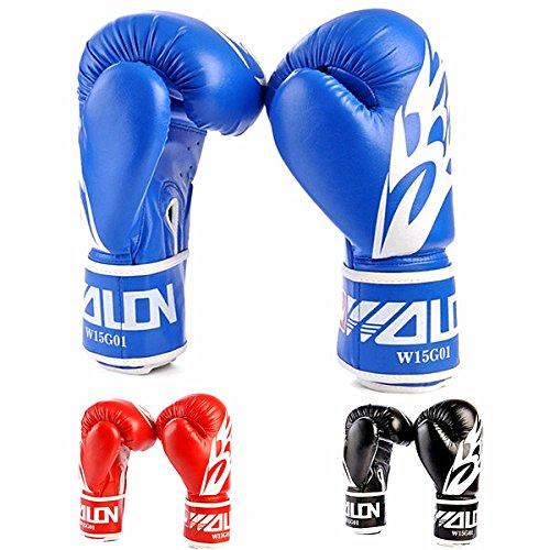 Bazaar PU Leder MMA Handschuhe Kampf Boxhandschuhe Sparring Training Handschuhe Muay Thai Kick Boxing Handschuhe