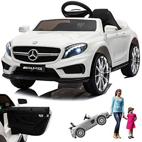 SIMRON Mercedes GLA45 AMG GLA 45 - Coche Infantil eléctrico