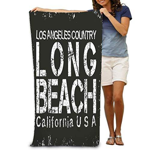 LOPEZ KENT Bath Towel Beach Towel California Sport Design fash Fashion Typography Stylish Printing Sportswear Apparel Original Wear Concept 31 * 51 inch