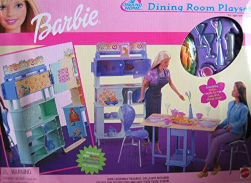 almacén al por mayor Barbie All All All Around Home Dining Room Playset (2000)  en stock