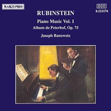 RUBINSTEIN: Album de Peterhof, Op. 75