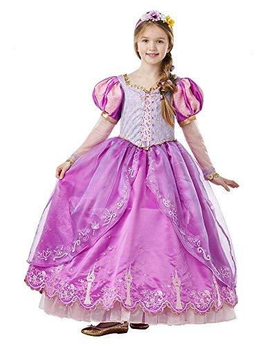 Rubie's Costume Principessa Raperonzolo Rapunzel da Collezione Premium edizione limitata per Bambina (630617-M)