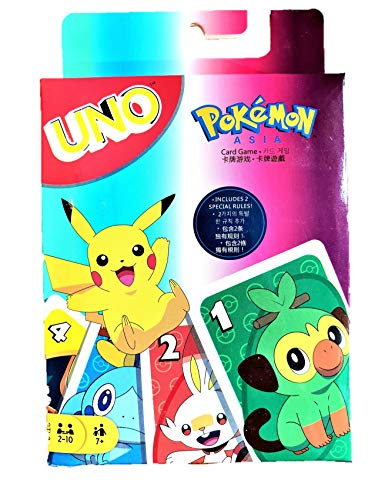 UNO Pokémon Kartenspiel Gesellschaftsspiel Pikachu Pokemon