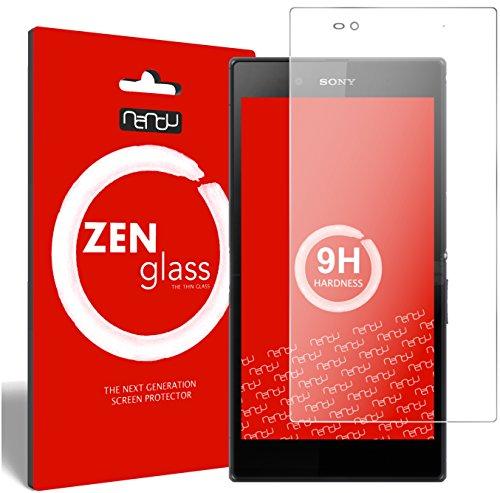 ZenGlass Flexible Glas-Folie kompatibel mit Sony Xperia Z Ultra Panzerfolie I Bildschirm-Schutzfolie 9H