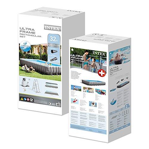 Intex Ultra Frame 488x975x132 cm