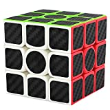 LSMY Speed Cube 3x3x3, Puzzle Mágico Cubo Carbon Fiber Sticker Toy