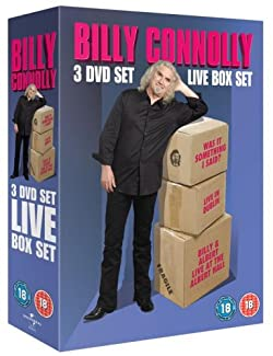 Billy Connolly - 3 DVD Set - Live Box Set