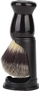 ANGGREK Rakborsthållare, professionell svart skäggborste stativ rakning verktyg lätt rakborste stöd för hem personlig Bear...