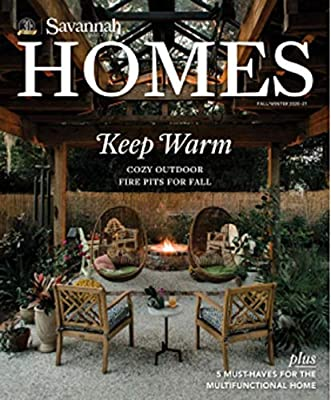Savannah Homes: Cozy Outdoor Fire Pits For Fall