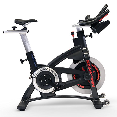 Schwinn AC Performance Plus Indoor Bike with Carbon Blue Belt Drive...