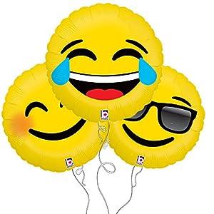Laugh  Smile  Too Cool Assorted Emoj...