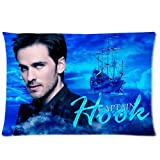 Generic Custom Pillowcase 20 30 Pillow Case Soft Bedding Decoration Colin O Donoghue Once Upon a Time Hook Print