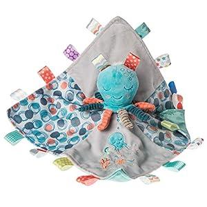Taggies Stuffed Animal Security Blanket, 13 X 13″, Sleepy Seas Octopus
