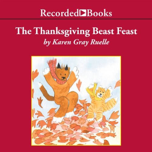The Thanksgiving Beast Feast audiobook cover art