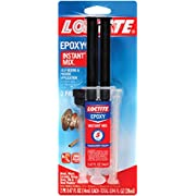 Loctite Epoxy Five Minute Instant Mix, Two 0.47-Fluid Ounce Syringes (1715208)